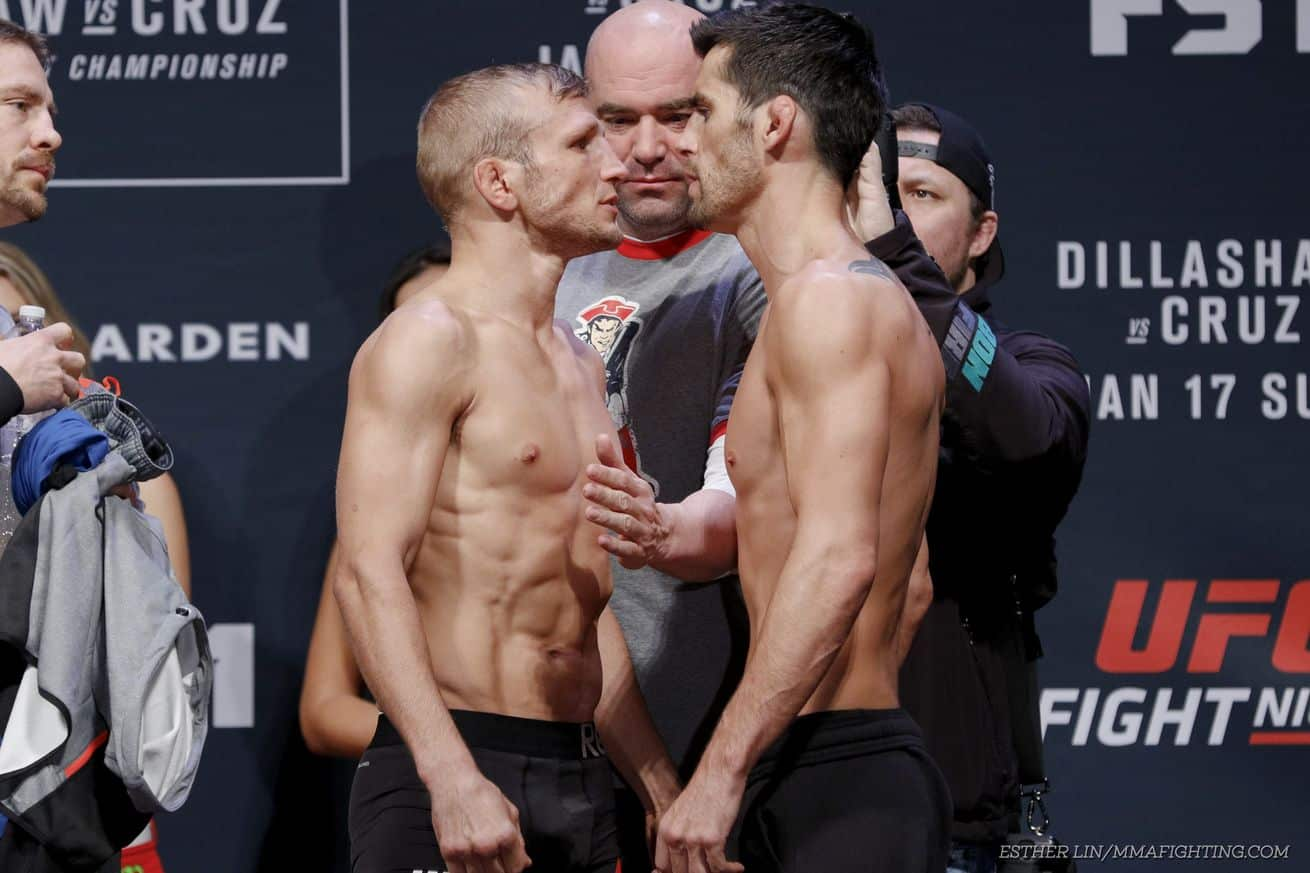 UFC Fight Night 81 - Dominick Cruz vs TJ Dillashaw - The Guy Blog