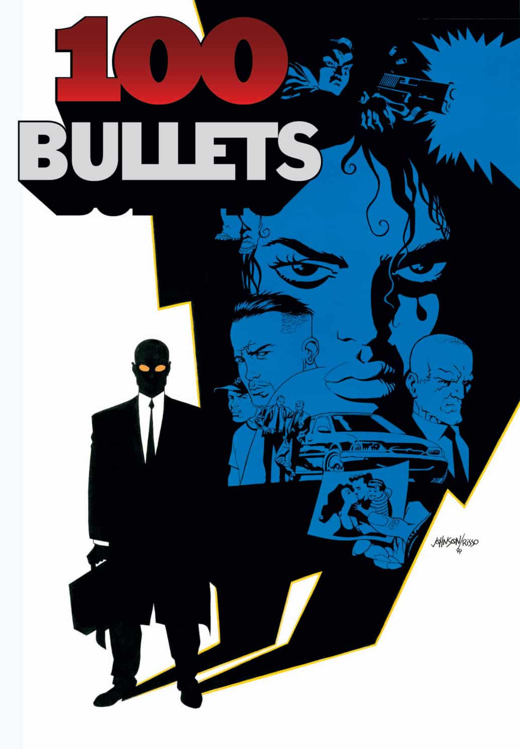 Comic Books 100 Bullets by Brian Azzarello | The Guy Blog