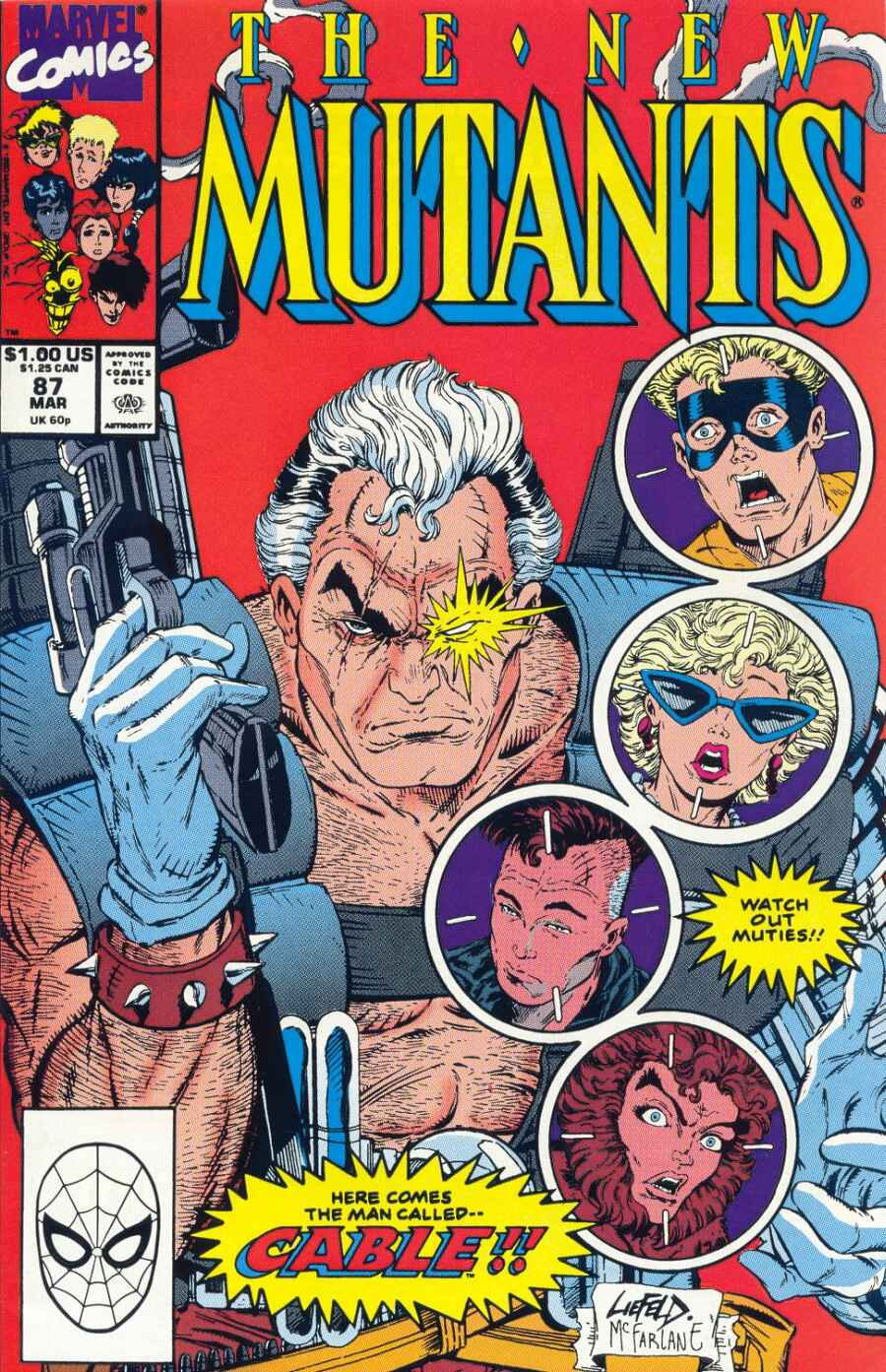 Comic Books New Mutants | The Guy Blog