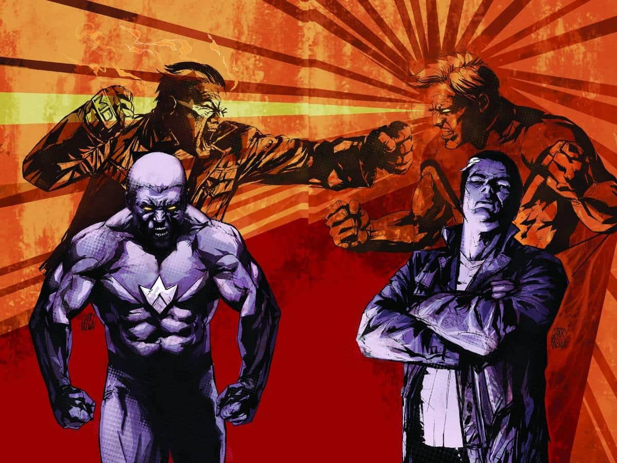 Comic Books Irredeemable & Incorruptible by Mark Waid   The Guy Blog