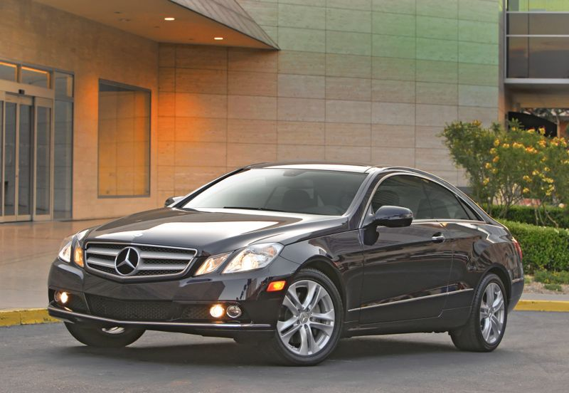 2010 Mercedes-Benz E350 Coupe / The Guy Blog