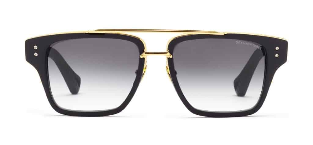 Cool gift ideas for men DITA Mach Three Black and Gold | The Guy Blog