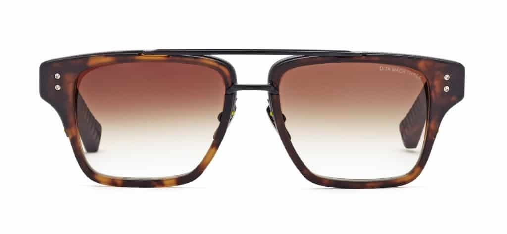 Cool gift ideas for men DITA Mach Three Matte Tortoise Black | The Guy Blog