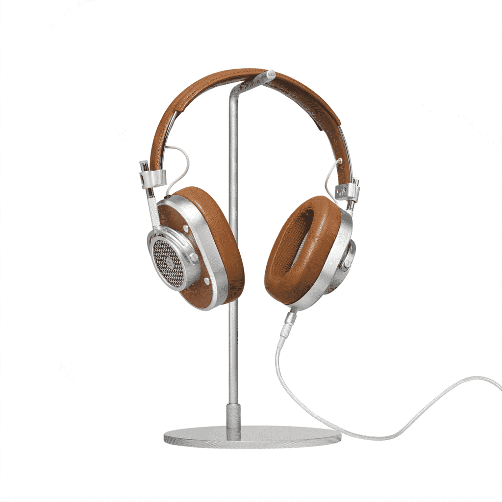 Cool gift ideas for men MH40Brown Over Ear Headphones Front | The Guy Blog
