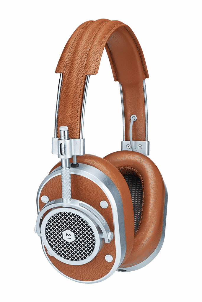 Cool gift ideas for men MH40Brown Over Ear Headphones Side | The Guy Blog