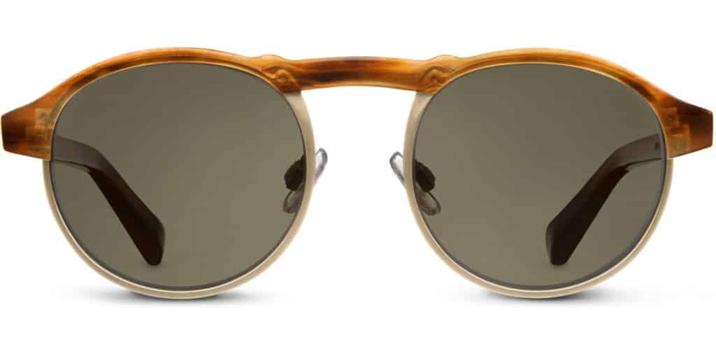 Cool gift ideas for men Warby Parker Bates English Oak | The Guy Blog