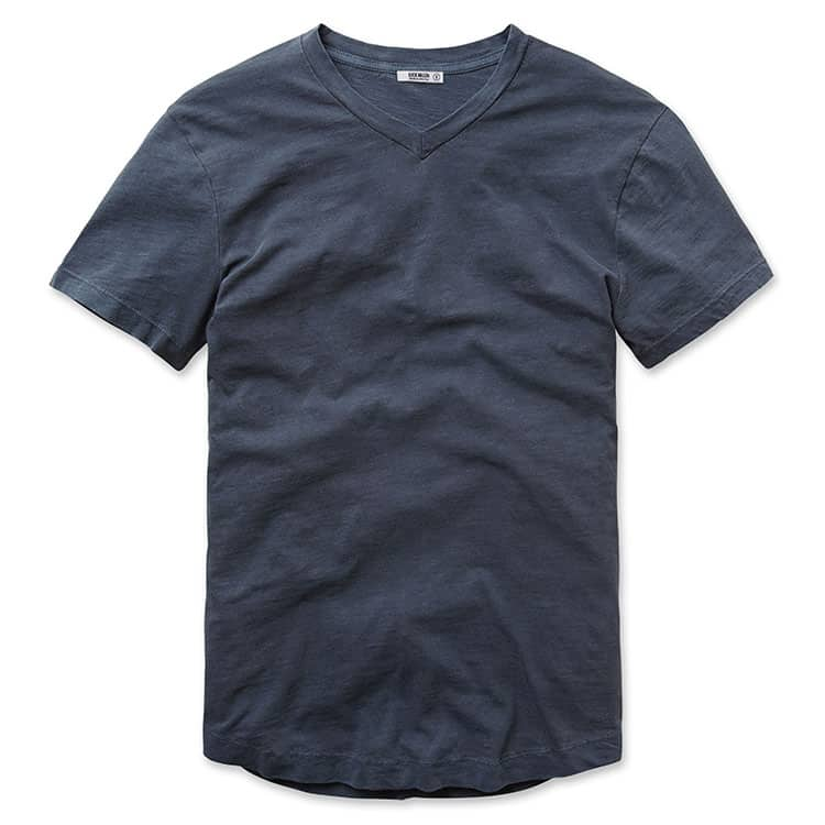 Cool gift ideas for men Buck Mason Dusk V neck Tshirt | The Guy Blog