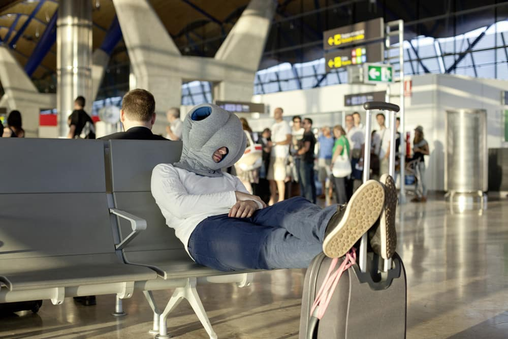 Cool gift ideas for men Ostrich Pillow | The Guy Bog