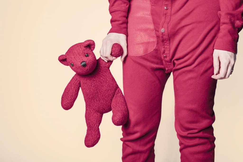 red-bear-child-childhood