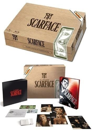 Cool gift ideas for men Scarface Blu Ray | The Guy Blog