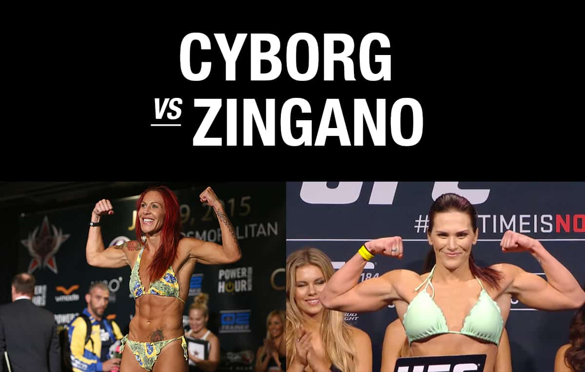 UFC 200  Cyborg vs Zingano / The Guy Blog