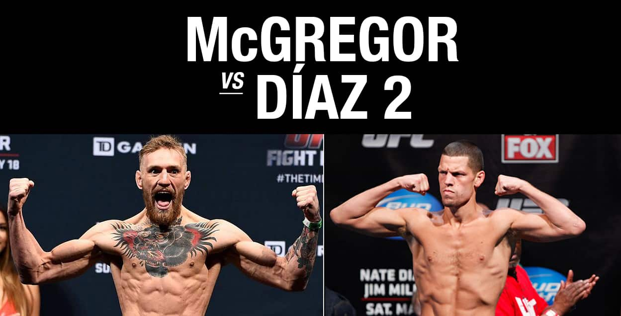 UFC 200  McGregor Diaz / The Guy Blog