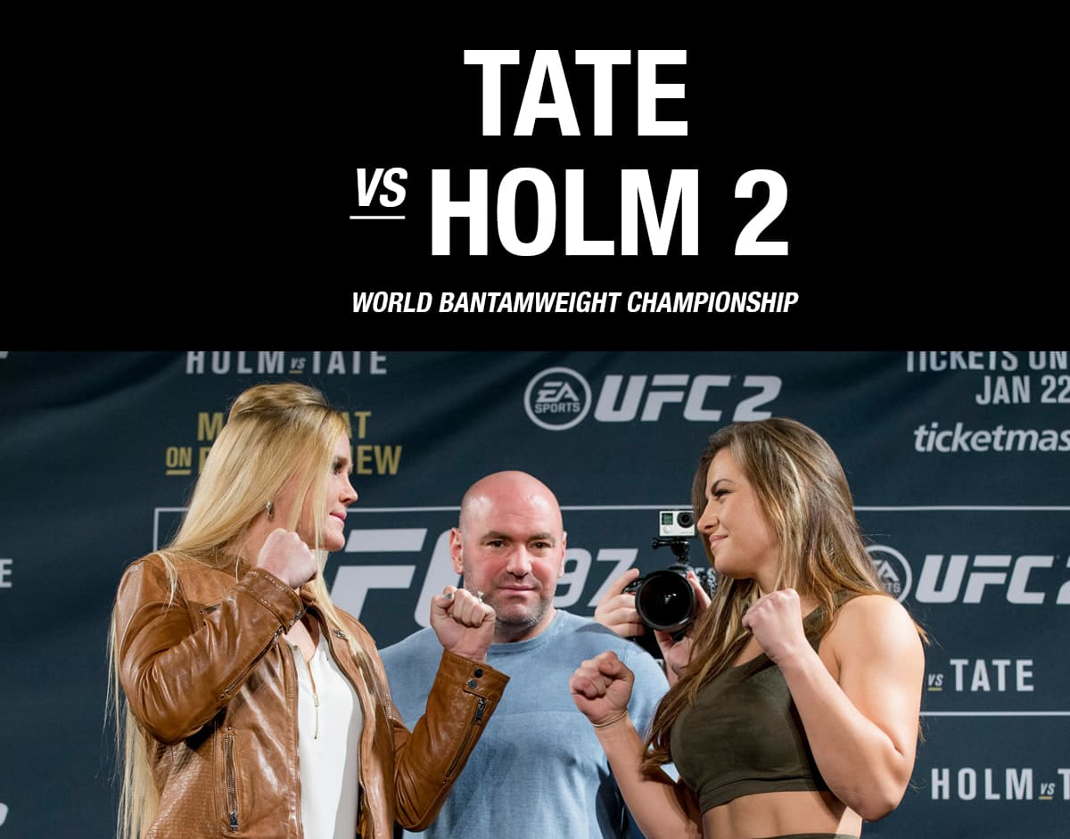 UFC 200  Tate vs Holm 2 / The Guy Blog