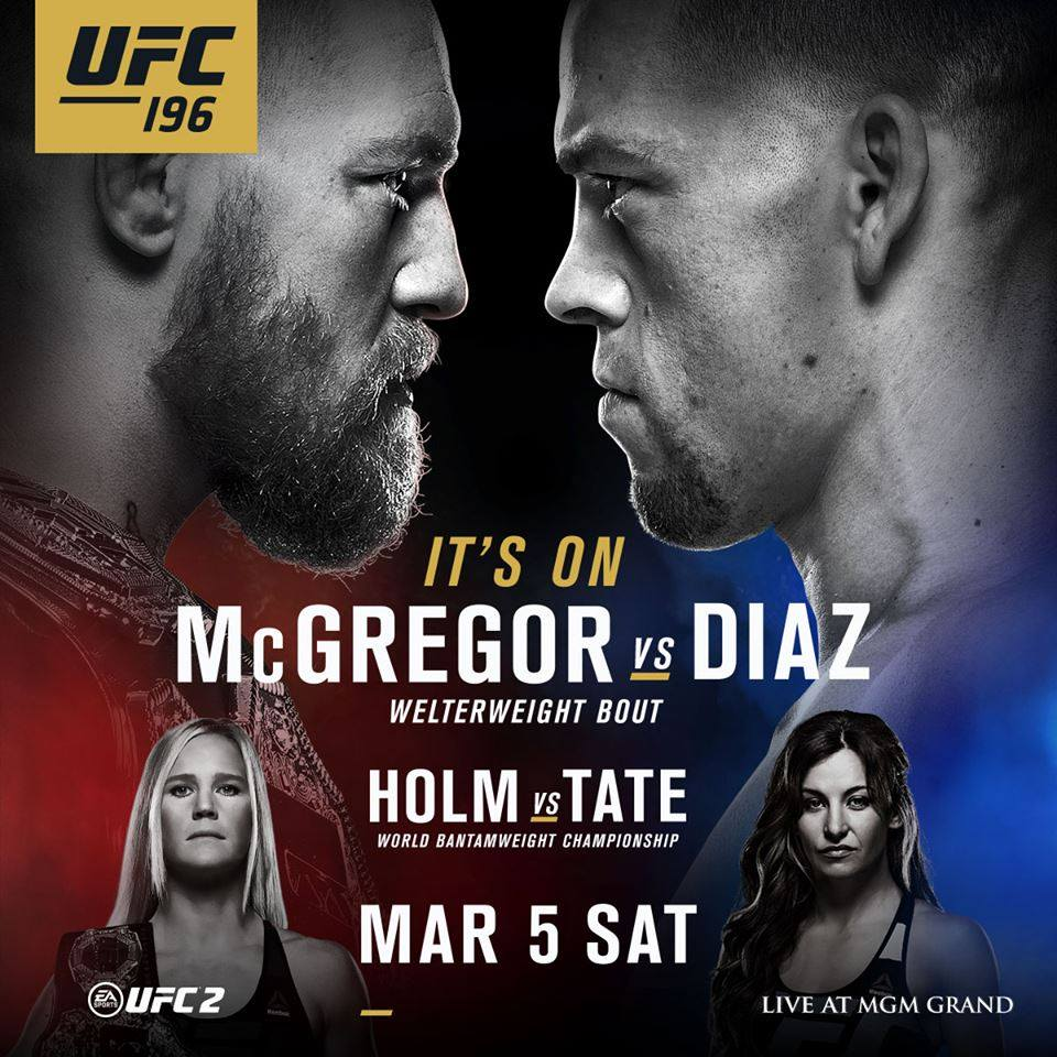 UFC 196 | The Guy Blog