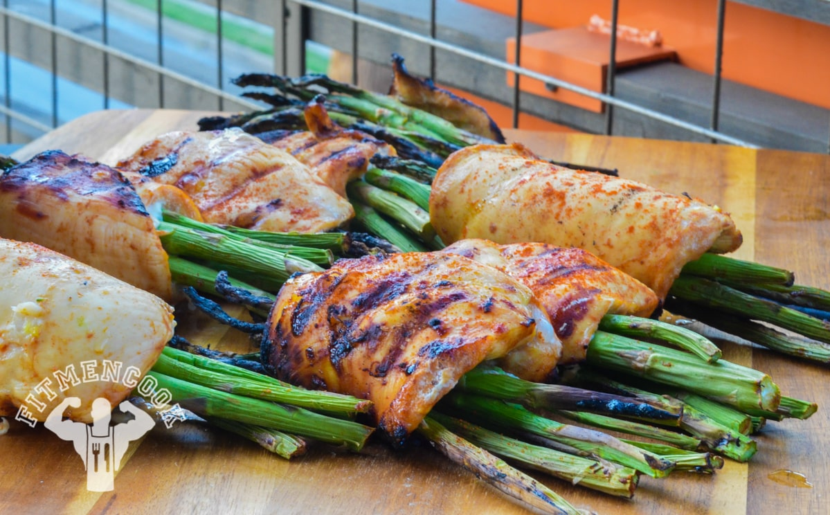 Fitness Meal Prep: BBQ Chicken Wrapped Asparagus