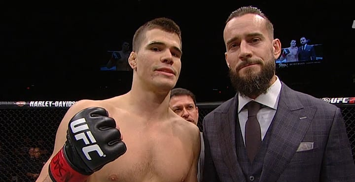 MMA CM Punk vs Gall | The Guy Blog