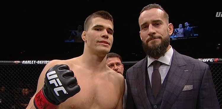 MMA CM Punk vs Gall | The Guy Blog