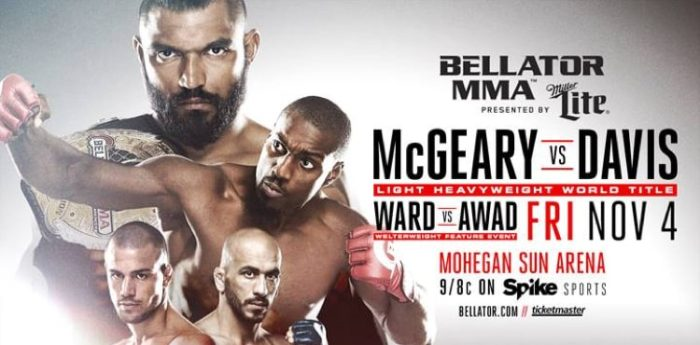 Bellator 163 McGeary Davis The Guy Blog