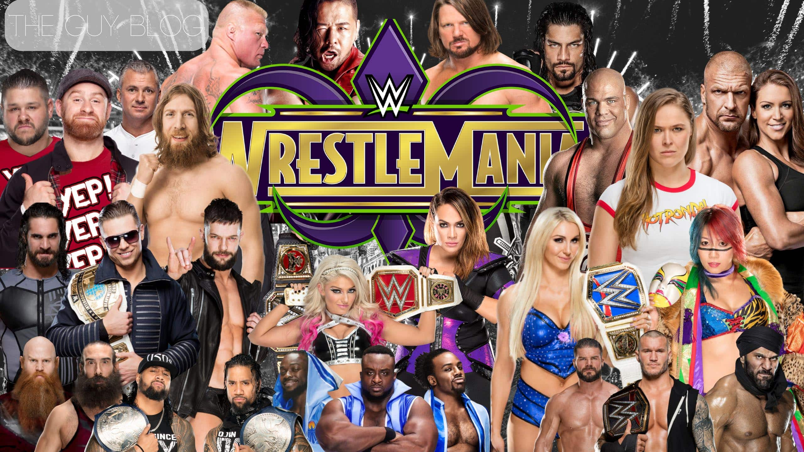 WrestleMania 34 Is Around The Corner